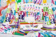 Bộ 16 món trang trí sinh nhật Happy Birthday