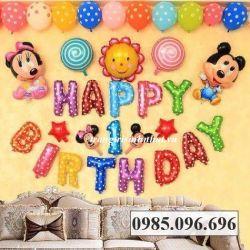 Bộ bóng sinh nhật Mickey số 04