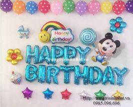 Bộ bóng sinh nhật Mickey số 06