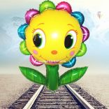 Bóng bay (hoa mặt cười có lá)