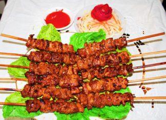 Cơm Thịt Xiên Nướng