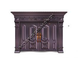 Cửa cổng đồng đúc đẹp, chất lượng tại Hoàng Gia Hà Nội