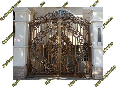 Cổng nhôm đúc Huỳnh Lộc Hoàng Tài - Nhôm đúc Hoàng Gia