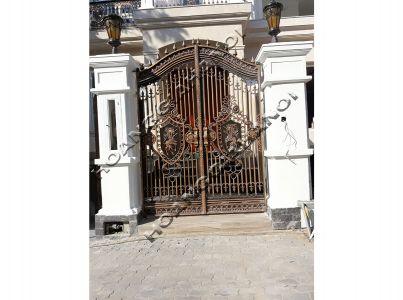 Cổng nhôm đúc với kiến trúc Rococo - Nhôm đúc Hoàng Gia
