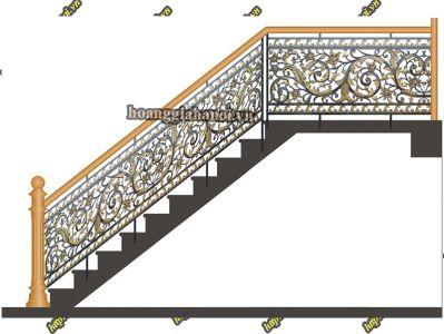 Cầu Thang Nhôm Đúc HGNT 20