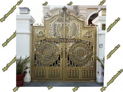 Cổng Nhôm Đúc HGNC 198