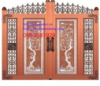 Một số mẫu cổng nhôm đúc cho biệt thự hiện đại