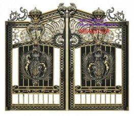 Cửa cổng hợp kim nhôm – sản phẩm Hoàng Gia Hà Nội