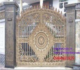 Cổng nhôm đúc Hoàng Gia Hà Nội