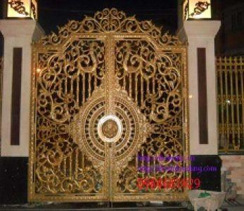 Cửa cổng hợp kim nhôm đúc – Bừng sáng ngôi nhà của bạn