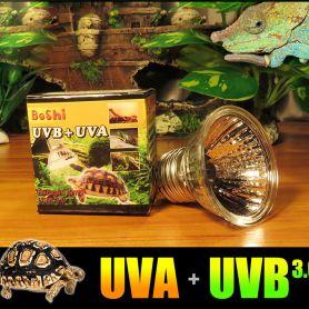 Đèn sưởi tích hợp UVA & UVB ban ngày cho bò sát