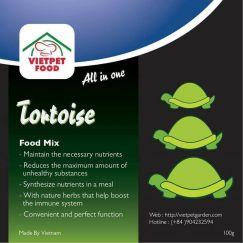 Tortoise Mix - thức ăn dinh dưỡng cho rùa cạn