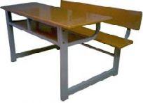 Bàn học sinh liền ghế có tựa lưng