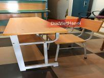 Bàn học sinh bán trú có 2 ghế rời BBT 05-2R