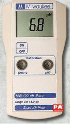 MÁY ĐO pH CẦM TAY ĐIỆN TỬ HIỆN SỐ Model MW 100
