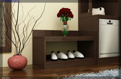 Tủ giày khách sạn