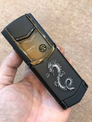 Vertu Signature S Pure Black Dragon