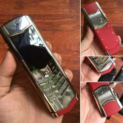 Vertu Signature S Red Calf Leather