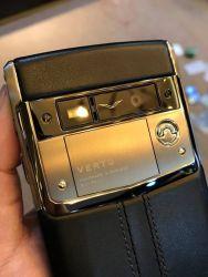 Vertu Signature Touch Jet Leather