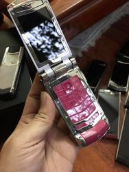 Vertu Ayxta Hot Pink Ceramic Keys