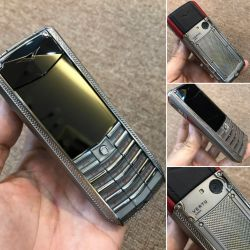 Vertu Ascent X Titanium Black Red Leather