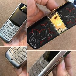 Vertu Constellation Roccoco Black