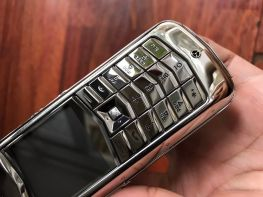 Vertu Constellation Black Alligator Ceramic Keys