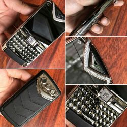 Vertu Constellation Quest Black Diamond Trim