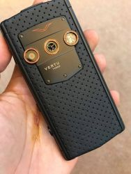 Vertu Constellation Touch Black Neon Orange