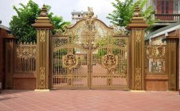 Thiết kế cổng biệt thự đẹp phong cách hiện đại