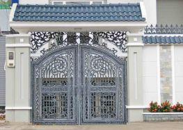 Điểm qua những mẫu cổng biệt thự đẹp