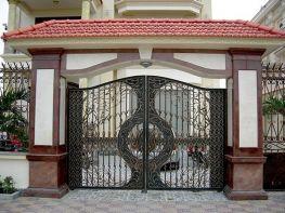 Cổng biệt thự đẹp Hoàng Gia Hà Nội