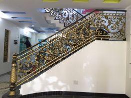 Cầu thang nhôm đúc cho người mệnh hỏa