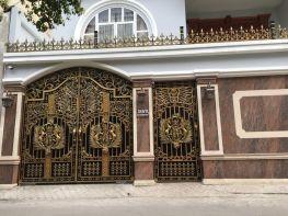 Mẫu cổng biệt thự đẹp năm 2018 – Hoàng Gia Hà Nội