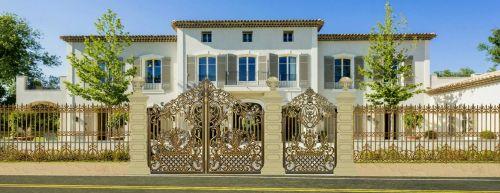 Các mẫu cổng nhôm đúc hà nội đẹp nhất