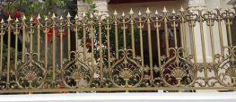Cận cảnh một số cổng biệt thự, hàng rào đồng đúc biệt thự đắt tiền của đại gia Hà Nội