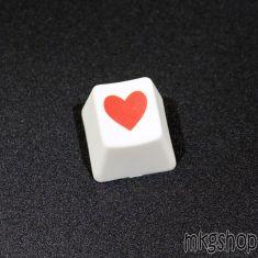 Keycap lẻ Heart PBT không xuyên led
