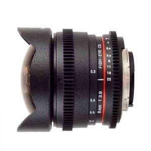Samyang 8mm fisheye T3.8 VDSLR - Chính hãng