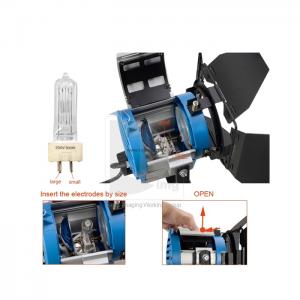 Đèn Halogen Fresnel 300W - Mới 100%
