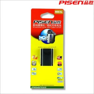 Pin Pisen NB-3L For Canon - Mới 100%
