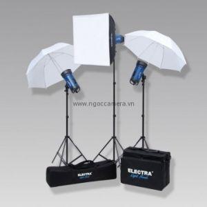 Bộ đèn chụp studio Electra 350W - Chính hãng