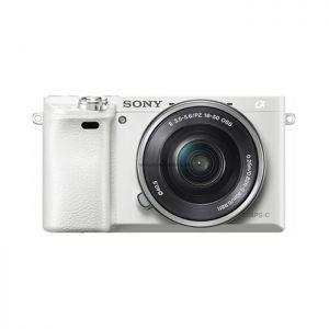 Sony Alpha A6000 Kit 16-50mm (White) - Chính hãng