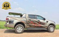 Nắp Thùng Xe Ford Ranger - Mẫu Giả Khung Wild 90 độ Ranger