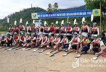 30 tay chèo thuyền Kayak khám phá Sông Giăng - Rừng Pù Mát