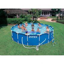 Hồ bơi tròn khung kim loại Intex 28132