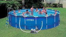 Hồ bơi tròn khung kim loại Intex 28236