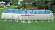 Hồ bơi chữ nhật siêu lớn Intex 28372