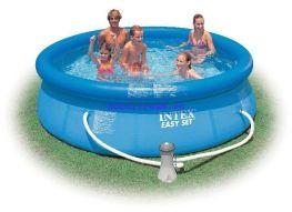 Hồ bơi đơn giản với bơm lọc Intex 56972