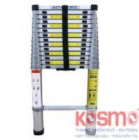 Thang nhôm rút đơn KOSMO 4m4
