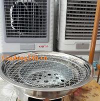 Bếp nướng than hoa âm bàn
